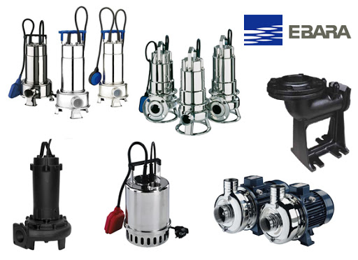 Máy bơm nước thải của thương hiệu Ebara có rất nhiều loại.