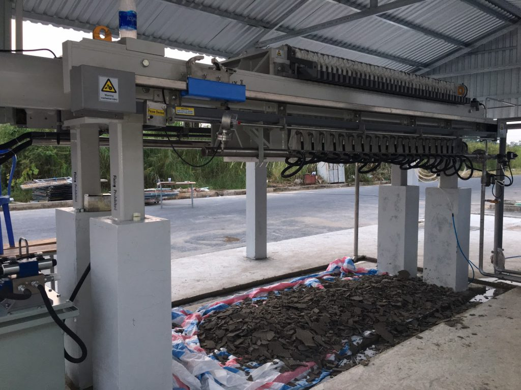 Máy ép bùn không thể thiếu trong quá trình xử lý nước thải.
