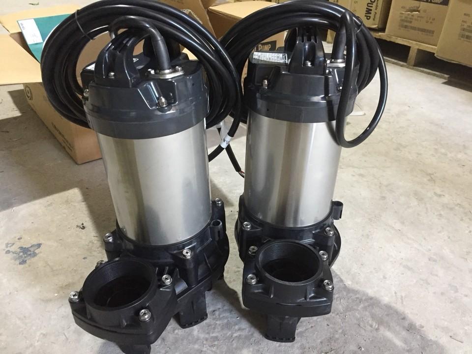 Một loại máy bơm chìm nước thải